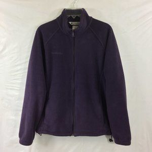 Women's fleece jacket size LG